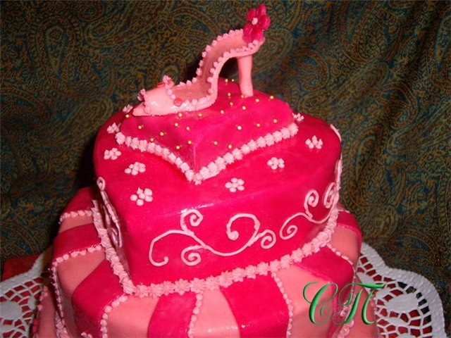 Фото тортов ко дню рождения для девочки